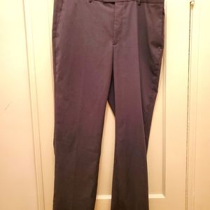 Perry Ellis Portfolio men's pants 38 by 32 grey